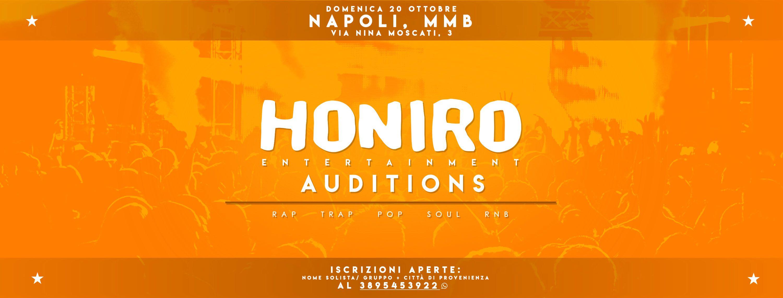 honiro audition fb+